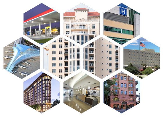 Industries Service, Hospitals, Schools, New Construction, Government, Healthcare